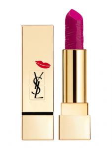 رژ لب ایو سن لورن مدل Rouge Pur Couture Kiss & Love Collection