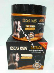 ماسک مو ضد موخوره و ریزش و حالت دهنده و مرطوب کننده شترمرغ اسکار پاریس