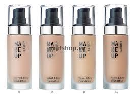 Makeup Factory Velvet Lifting Foundation