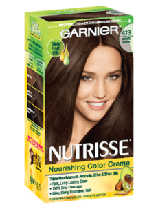 Nourishing Color Creme 413 - Bronze Brown