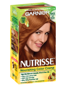 Nourishing Color Creme 643 - Light Natural Copper